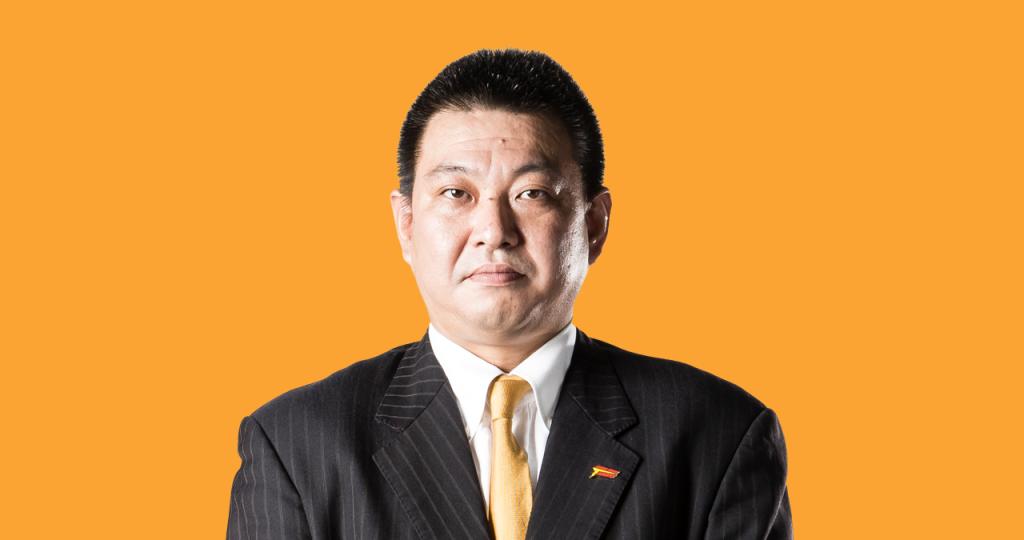 平岡富士貴ヘッドコーチの写真