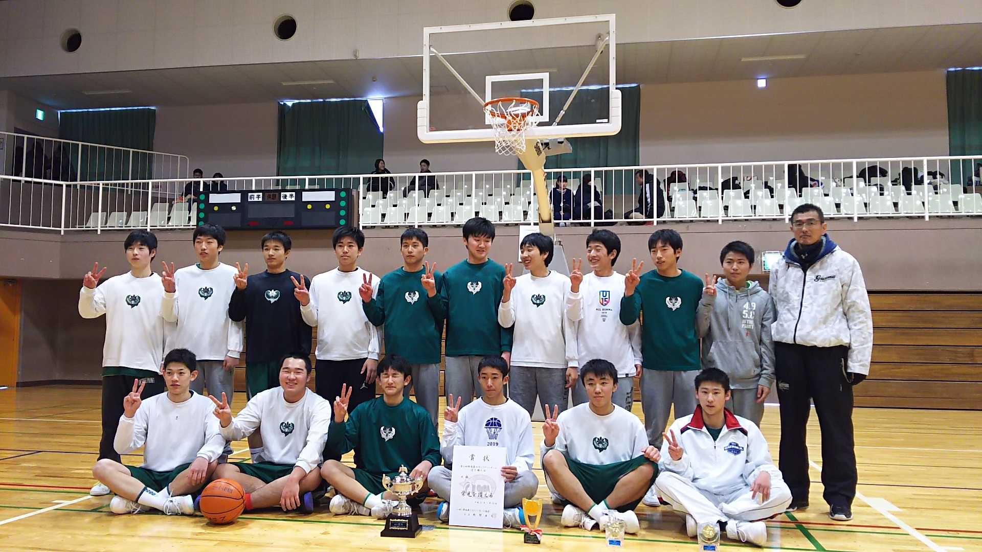 第1回 群馬県U15選手権 男子優勝:沼田ジュニア