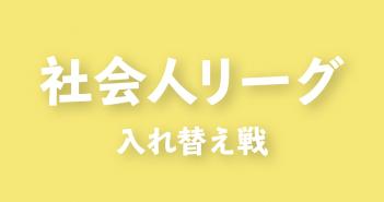 2019年度 第3回 群馬県社会人リーグ 入れ替え戦